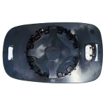 Renault Laguna [01-07] Clip In Heated Wing Mirror Glass - Blue Tinted